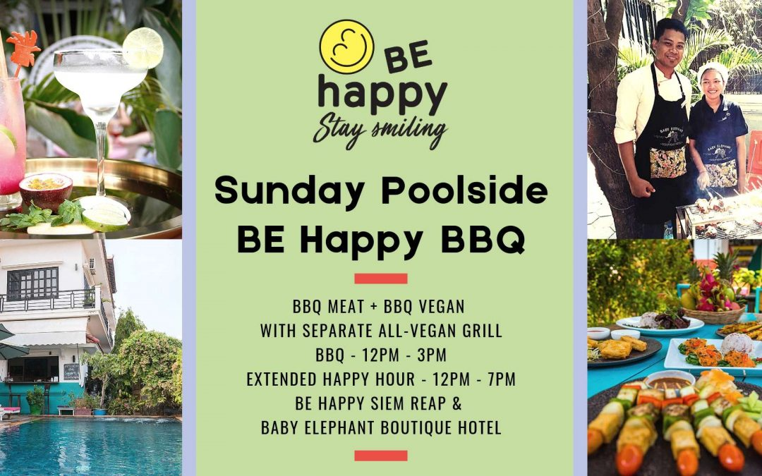 Sunday BE Happy Poolside Barbecue
