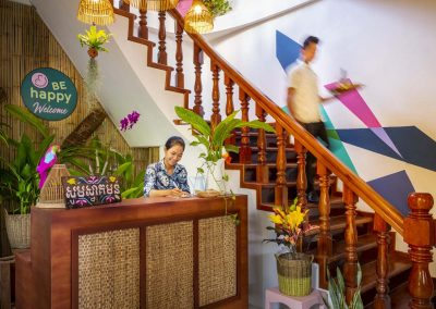 BE Happy Guesthouse Siem Reap | Lobby of Guesthouse